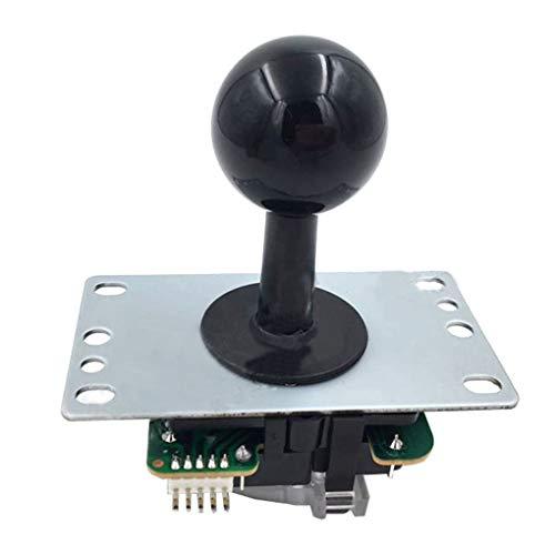 Guangcailun Arcade Game Runde Joystick 8 Way Joystick Dichtung Stick-Sleeve-Game-Controller-Zubehör