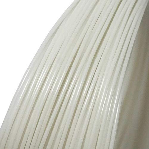 Filamento para impresora 3D, SENRISE de 1,75 mm, materiales de impresión de filamento PLA para impresora 3D y bolígrafos 3D, varios colores de 10 m, blanco
