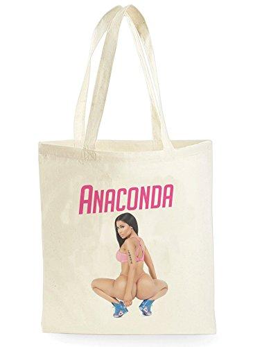 Uk Print King Anaconda Poster, Einkaufstasche fürs Einkaufen, Picknick, Zuhause, Lagerung und Schule, tote bag