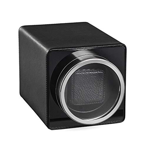 LAMZH Caja Almacenamiento Reloj Caja Relojes Automaticos Silencioso Cajas Giratorias, con Motor Mabuchi Silencioso 4 Modos de Rotación Vitrina Movimiento Ver Caja de Almacenamiento exhibición