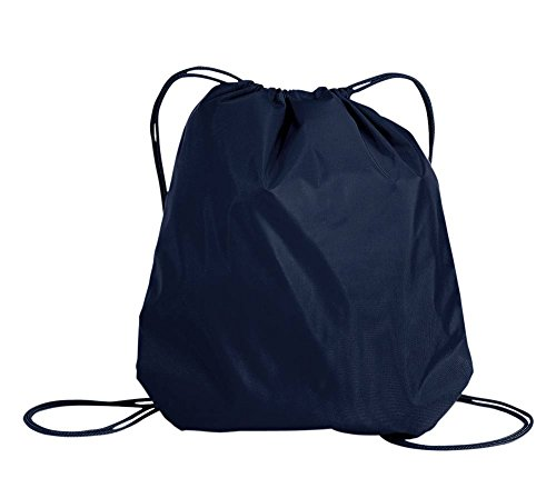 Port Authority Cinch Pack With Mesh Trim - Navy - One Size