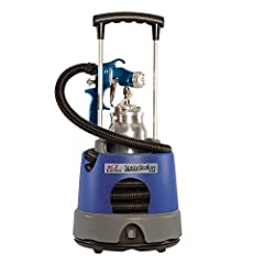 SEMI-PRO PAINT SPRAYER: The Earlex Spray Station 5500 is designed for serious woodworking, light contractor and automotive enthusiasts. Ideal for use in the workshop, around the home or on the job site ACHIEVE THE PERFECT FINISH: The professional met...