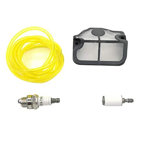 Cancanle Luft Filter Kraftstoff Schlauch Zündkerze Kit für HUSQVARNA 36 41 136 141 LE LE 137 e 142 e Kettensäge