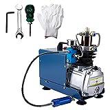 Artilife High-Pressure Air Compressor Pump 4500 PSI 30 MPa 300 Bar High Pressure System Electric 110v Compressors for Diving,instructions Included