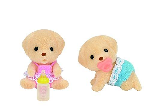 Sylvanian Families 5189 Labrador Zwillinge - Figuren für Puppenhaus