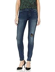 """top 10 kensie black jeans 30 """"Inseam skinny jeans, moonlight, 25"""
