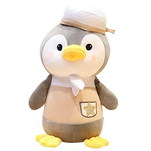 Kuscheltiere & Plüschtiere Kreatives Spielzeug Netter Klingel Pinguin-Plüsch-Puppe Pinguin-Plüsch-Spielzeug-Kind-Kissen-Puppe-Kind-Geburtstags-Geschenk (Größe: Khaki-22cm), Größe: Khaki-22cm Qingqiao