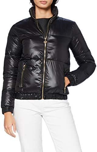 Gianni Kavanagh Gold Baroque Tartan Jacket Chaqueta con Forro para Mujer