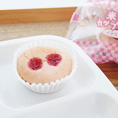 新米粉のカップケーキ イチゴ風味 (鉄) 25g×40個入 22597