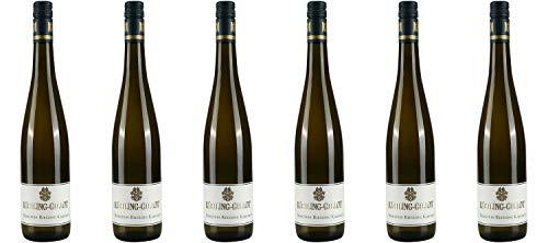Weingut Kühling-Gillot Nierstein Riesling Kabinett DE-ÖKO-039* Rheinhessen 2019 Wein (6 x 0.75 l)