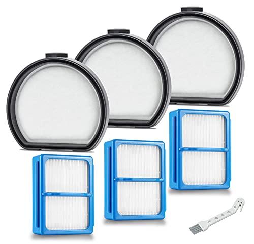 Supremery 3 filtros de repuesto para aspiradora AEG FX9 QX9, filtro premotor + accesorios de filtro higiénico, alternativa a AEG AEF167