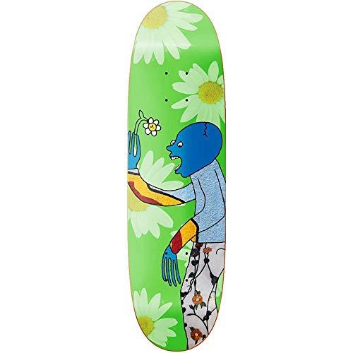 Primitive Franky Villani Wilted Skateboard-Brett / Deck, 23 cm, Grün