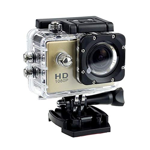URMAGIC 4K Action Sport Camera Waterproof DV SJ4000 HD 1080P Ultra Sports Action Camera Underwater Waterproof Camera 140° Wide Angle WiFi Sports Cam DVR Helmet Cam Camcorder
