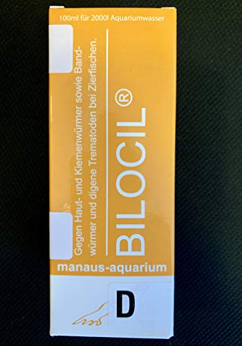 Manaus BILOCIL® D Aquarium-Production 100ml Medikament gegen Kiemenwürmer