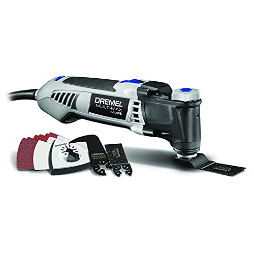 Dremel MM35-01 Multi-Max 3.5-Amp Oscillating Tool Kit with Innovative Quick-Change Interface and 12...