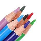 Lápices de acuarela, Juego de lápices de acuarela, Lápices de colores, Multicolor profesional para adultos Artistas Profesionales Mezcla de colores y capas