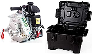 Portable Winch PCW5000 Gas-Powered Capstan Pulling Winch with PCA-0100 Transport Case (Bundle, 2 Items)