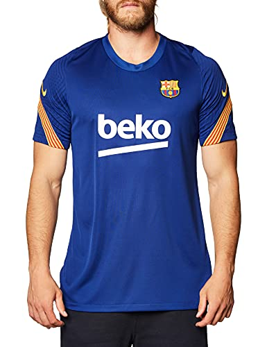 NIKE FC Barcelona Temporada 2020/21-FCB M NK BRT Strk Top SSCD5999-458 Camiseta,...
