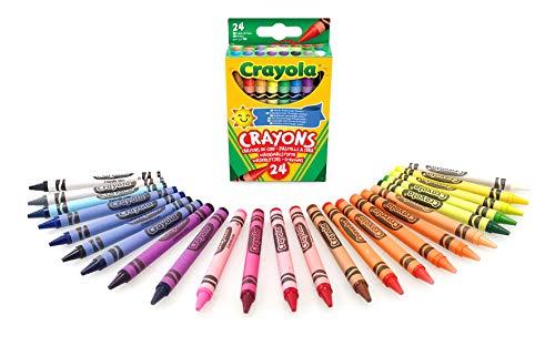 Crayola -  24 Wachsmalstifte