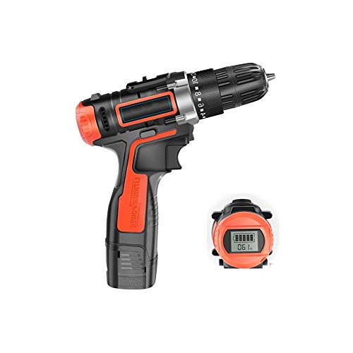 WSMLA Cordless Screwdriver, Electric Screwdriver, Charging Cable, Accessories, Carrying Box (Size : 16.8v)