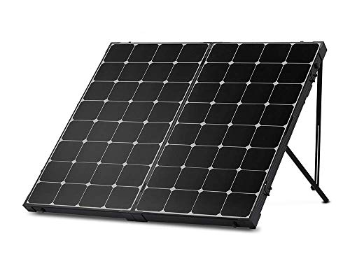 Renogy 200 Watt Off Grid Portable Foldable Solar Panel Suitcase Built-in Kickstand with...