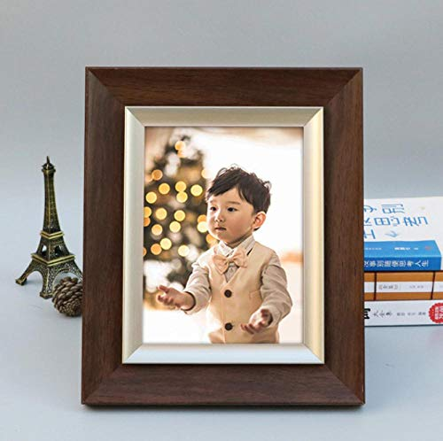 Gerenic fotolijst voor wanddecoratie, fotolijst voor foto's, staand formaat, fotolijst van kunsthars, milieuvriendelijk, voor baby's, kinderen, 1 stuks, fotolijst, decoratie thuis 8inch