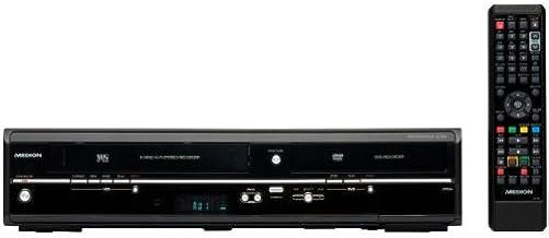 MEDION MD 83425 DVD / VHS-Recorder Kombi-Gerät (DVB-T & Analog Tuner, HDMI, USB,..
