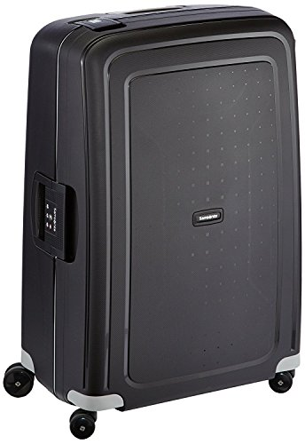 Samsonite S'Cure - Spinner L Suitcase, 75 cm, 102 Litre, Black