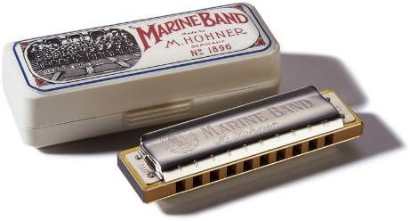 HOHNER - 1896/20 Harmonica marine band 10 tr en RE