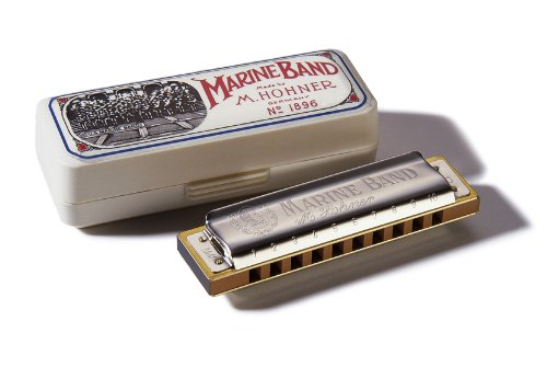 Hohner Marine Band Harmonica, Key of D