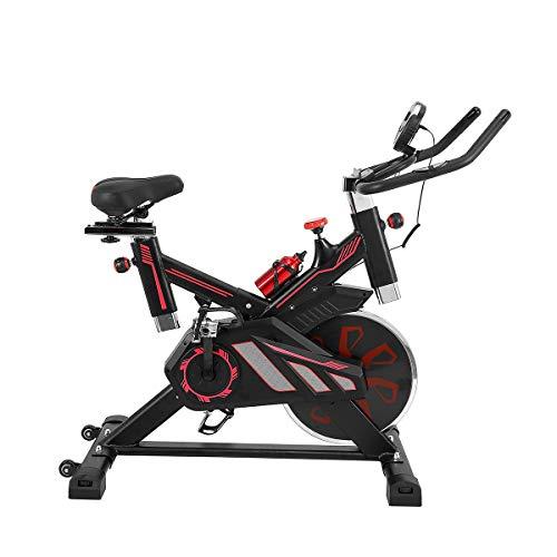 Rayline Heimtrainer Fahrrad Hometrainer Indoor Training-Fitness-Bodybuilding-Gymnastik-Aerobic-Krafttraining