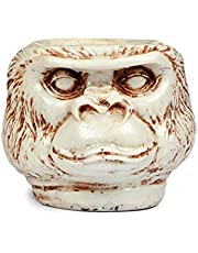 Pinkdesh Resin Material Monkey Face Ashtray Bar Accessories, Smoking Room Decor for Smokers/Cigarette Ash