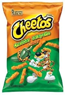 Cheetos Crunchy Jalapeno Flavored Snacks, 8.5oz Bags (Pack of 3)