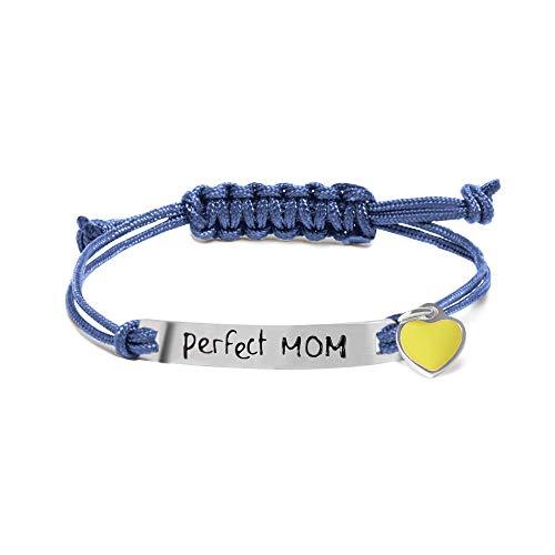 Pulsera Perfect Mom de M'AMI TAG de acero.