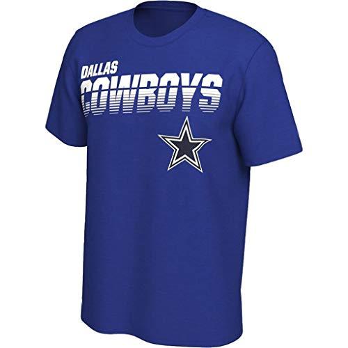 Männer NFL T-Shirt Team-Logo Leichtathletik Fashion Jersey Football Super Bowl Fans Sommer-Stück S-3XL Für Die Jugend Dallas Cowboys3-S