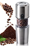 G-LIFE コーヒーミル 電動コーヒーミル 充電式 水洗い可能 掃除簡単 セラミック 豆挽き フィルター マグ カップ 一体型 アウトドア 正規店 1年間保証