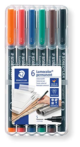 STAEDTLER-313 ST Rotulador universal permanente S, Color neg
