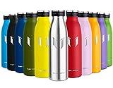 Super Sparrow Botella de Agua Acero Inoxidable- 350ml - sin BPA - islamiento de...