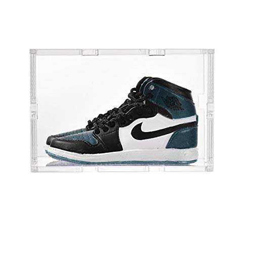 ahliwei Llavero, Zapatos De Baloncesto 3D Tridimensionales, Zapatos Pequeños, Adornos para Bolsos De Pareja, Zapatillas Creativas, Manualidades, Regalos 21