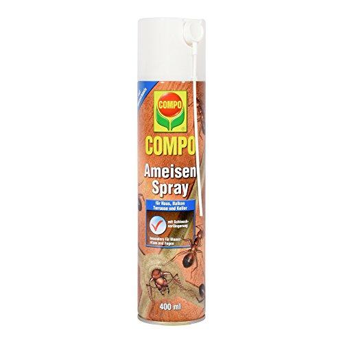 COMPO Ameisen-Spray, Insektenspray mit Schlaufverlängerung, 400 ml