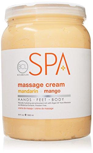 Save %10 Now! BCL SPA Massage Cream Mandarin + Mango,64 oz