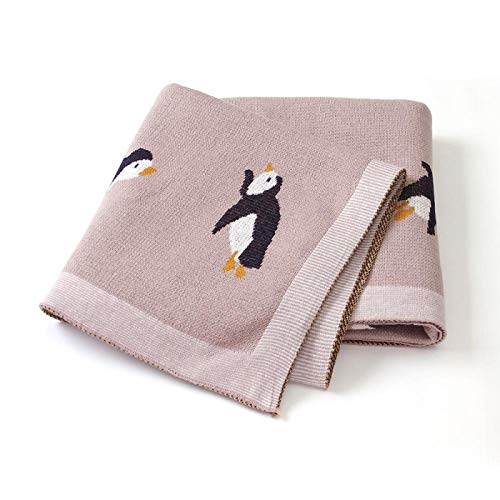 Mantas de bebé de Punto recién Nacido Swaddle Wrap Manta Saco de Dormir para Cochecito Fundas de Cama Dibujos Animados Infantil Bebes Edredones 100 * 80cm