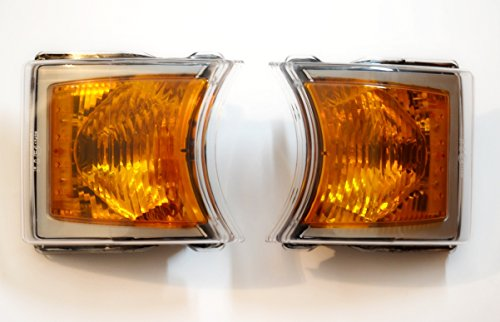2 x LED intermitentes laterales izquierdo y derecho para Scania P/G/R OEM número 1747981 E4 marcado