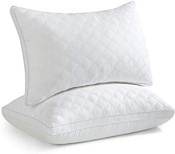 2-Pack Oubonun Queen Size Down Alternative Pillows