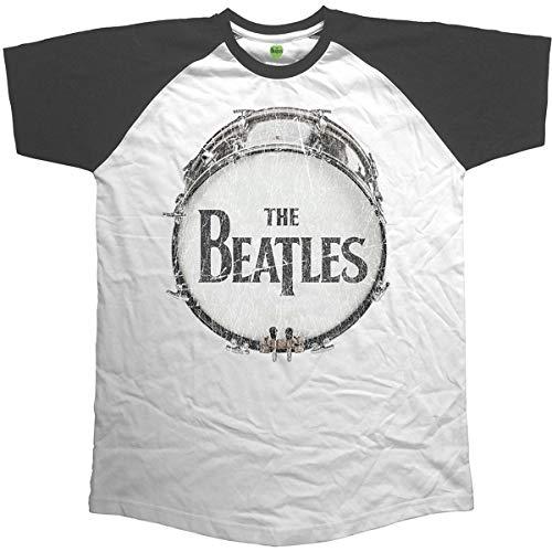 Rockoff Trade Herren Vintage Drum T-Shirt, Schwarz, L