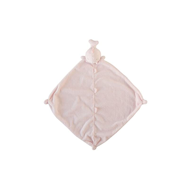 crib bedding and baby bedding angel dear blankie, pink whale (1182)