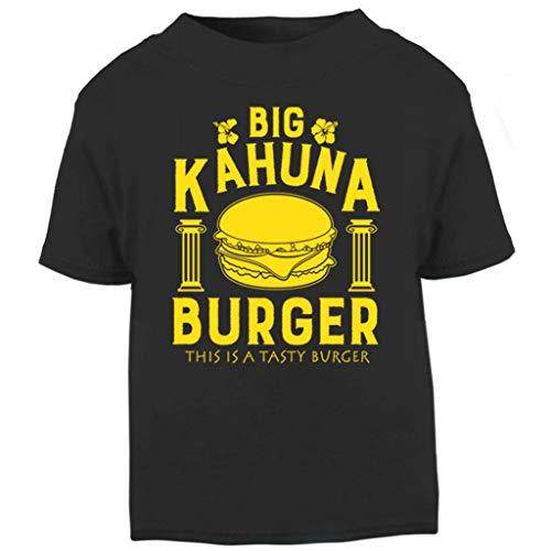 Cloud City 7 Pulp Fiction Inspired Big Kahuna Burger Baby and Toddler Short Sleeve T-Shirt