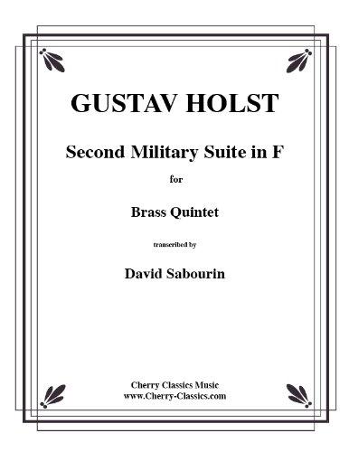 Second Military Suite in F for Brass Quint/voor blikken blazerquintett (feestje en stemmen)