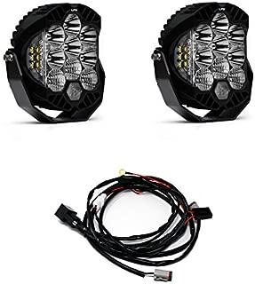 Baja Designs LP9 Sport LED White Driving/Combo Light & Harness Kit
