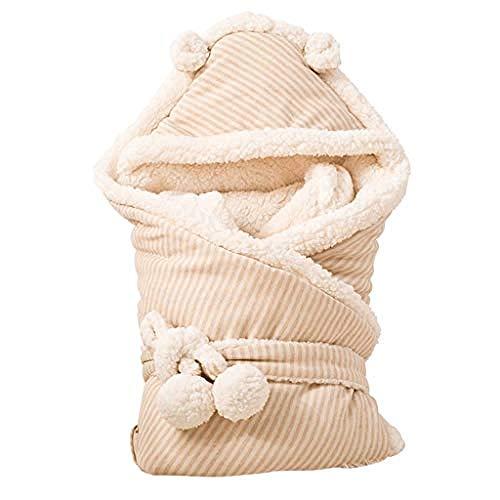 Baby Winter Deken voor kinderwagens Baby Slaapzak Baby Leuke Deken Houd Warming Gebruikt in Outdoor wandelwagen of Air-Conditioned Room Dual Use Geschikt (Maat: M) Klein
